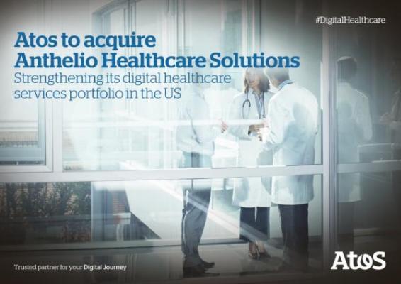 atos adquiere anthelio healthcare solutions para reforzar su cartera de servicios de salud digital