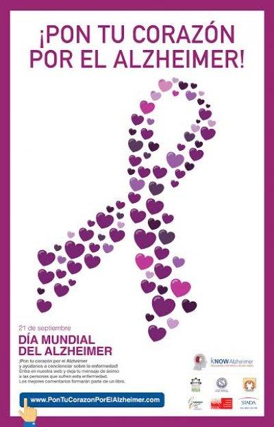 la campana solidaria pon tu corazon por el alzheimer buscara reunir miles de mensajes para concienciar sobre el alzheimer