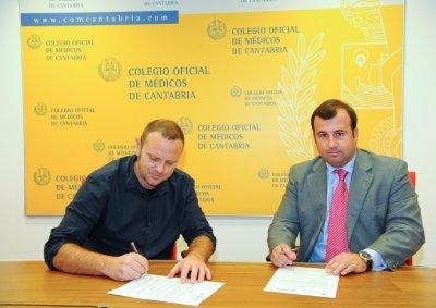 el comc y atenzia firman un acuerdo de colaboracin para sus colegiados