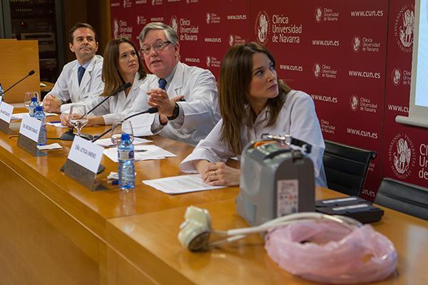 la cun completa el primer implante de corazoacuten artificial total con eacutexito en espantildea