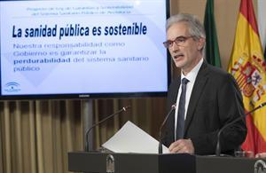 el consejo de gobierno andaluz da el visto bueno al proyecto de ley de garantiacuteas y sostenibilidad