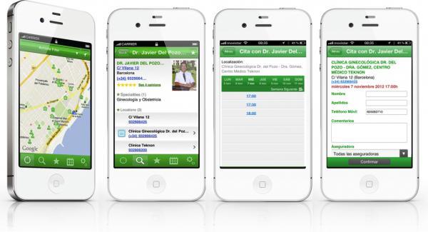 la app doctoralia se posiciona como una de las mas valoradas por los expertos