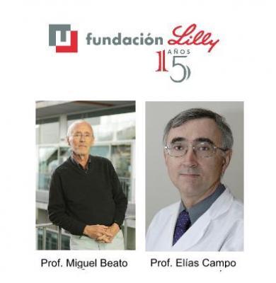 los doctores miguel beato y elas campo premios fundacin lilly de investigacin biomdica 2015