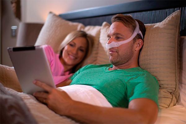 dreamwear la primera mascarilla nasal de philips con conexioacuten en la parte superior de la cabeza