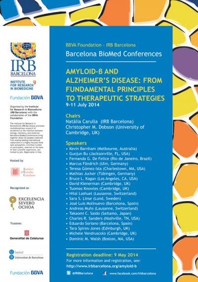 la enfermedad de alzheimer a debate en barcelona
