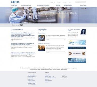 Grifols confía en Liferay Portal para la renovación total de
