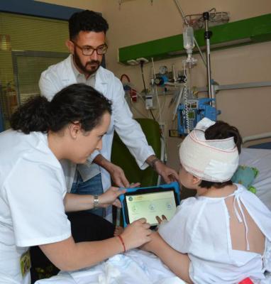 el hospital nintildeo jesuacutes creanbsppainapple una app para medir el dolor de los nintildeos