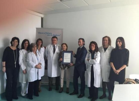 el hospital ramoacuten y cajal se acredita como centro de excelencia en el tratamiento y la formacioacuten en bombas de insulina