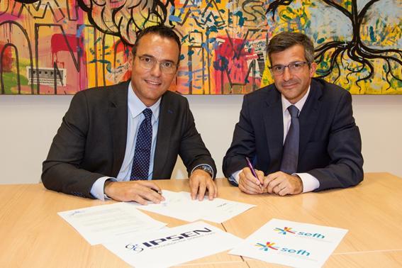 ipsen pharma y la sefh firman un acuerdo de colaboracioacuten