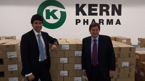 kern pharma invierte en su centro logstico con el objetivo de crecer en productos y mercados