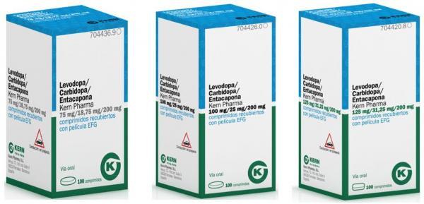 kern pharma lanza sus nuevas presentaciones de levodopa  carbidopa  entacapona efg
