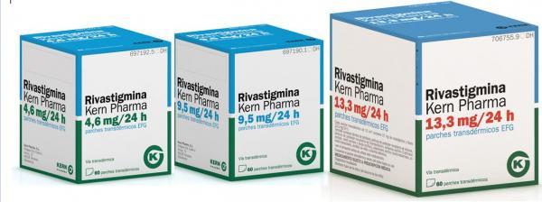 kern pharma lanza una nueva presentacioacuten de rivastigmina y ampliacutea su liacutenea para el alzheimer