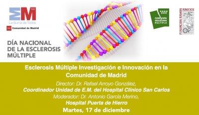 madrid referente en nuevas terapias y tratamientos para la esclerosis multiple