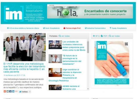 im medico hospitalario nuevo diseno y mas inmediatez informativa
