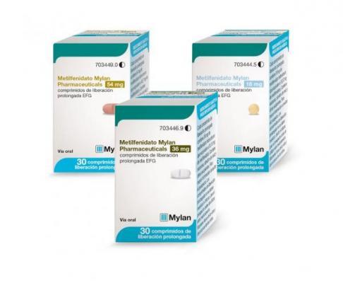 mylan lanza metilfenidato lo ultimo en su gama de sistema nervioso central