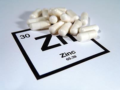 un modesto aumento de la ingesta de zinc promueve la salud celular