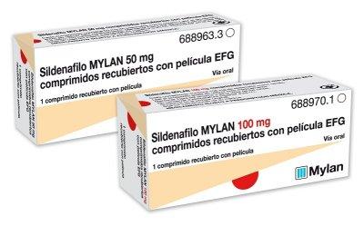 mylan lanza sus nuevas presentaciones en la gama de disfuncin erctil