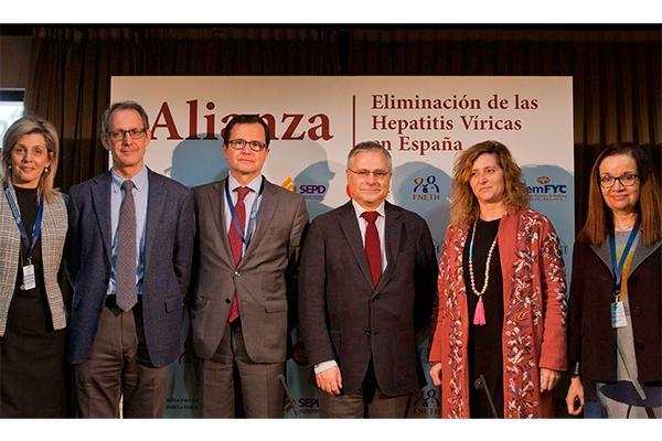 una nueva alianza afronta el reto de eliminar la hepatitis c en espantildea antes de 2021