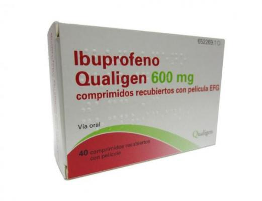 un nuevo antiinflamatorio en las farmacias ibuprofeno qualigen 600 mg