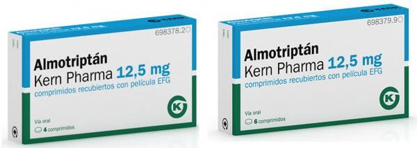 nuevo lanzamiento de kern pharma para el tratamiento agudo de la migrana