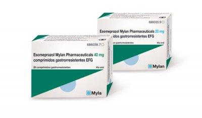 nuevo lanzamiento de mylan en su gama de gastrointestinales