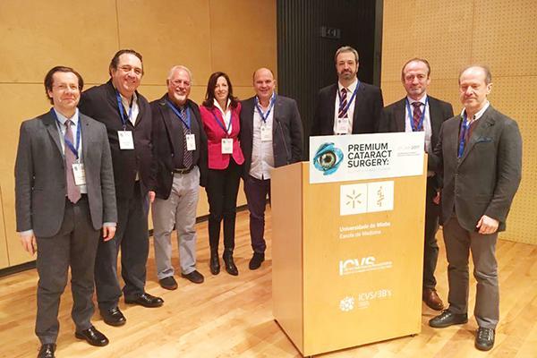 oftalmoacutelogos de espantildea y portugal unifican criterios en cirugiacutea de cataratas
