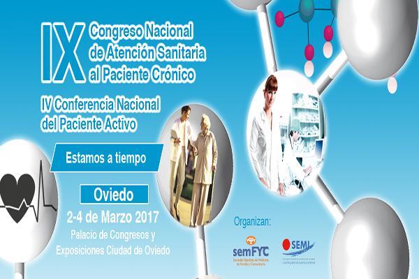 oviedo acogeraacute el congreso nacional de atencioacuten sanitaria al paciente croacutenico