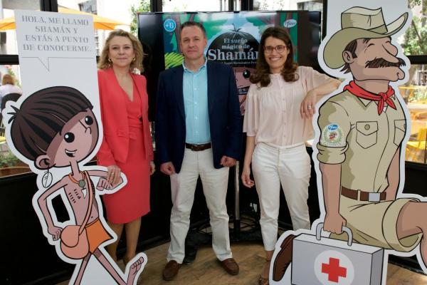 pfizer explica a los nintildeos la historia de los medicamentos con quotel suentildeo maacutegico de shamaacutenquot