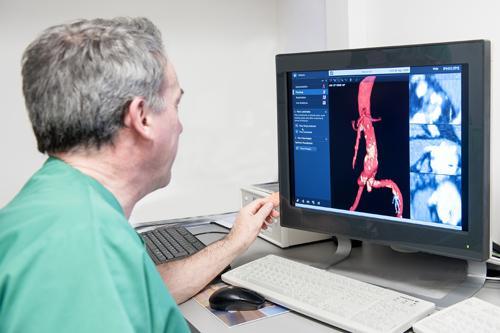philips presenta un sistema de navegacion 3d para la enfermedad vascular