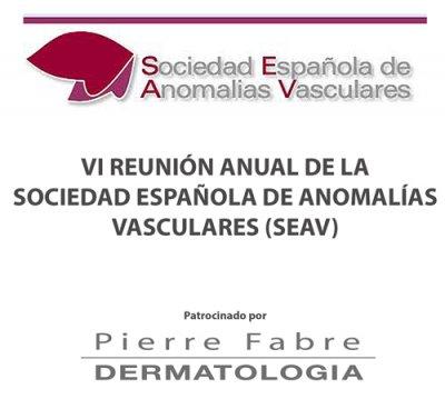 pierre fabre patrocina la vi reunin anual de la sociedad espaola de anomalas vasculares