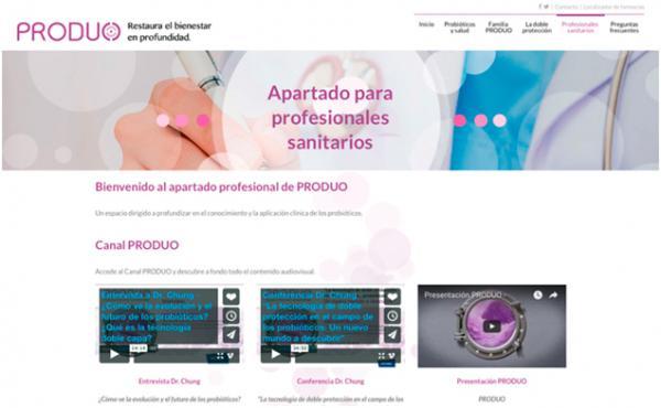 produo abre una plataforma online para profesionales sanitarios sobre la aplicacioacuten cliacutenica de probioacuteticos
