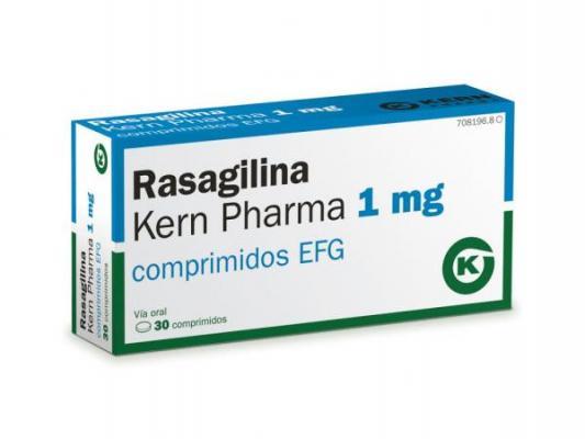 rasagilina 1mg comprimidos lo uacuteltimo de kern pharma para el parkinson