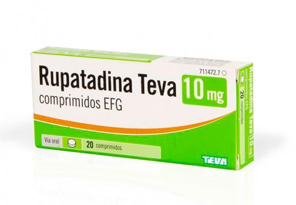 rupatadina el nuevo antihistamiacutenico de teva que alivia los siacutentomas de la rinitis aleacutergica y la urticaria