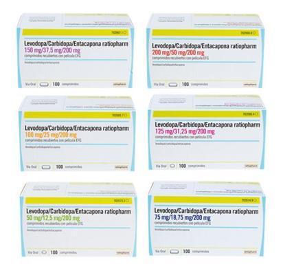 seis nuevas presentaciones de ratiopharm para el tratamiento de la enfermedad de parkinson