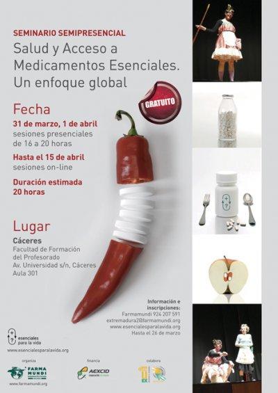 seminario sobre salud y acceso a los medicamentos
