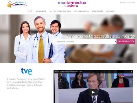 maacutes servicios para la primera plataforma de prescripcioacuten de medicamentos por internet