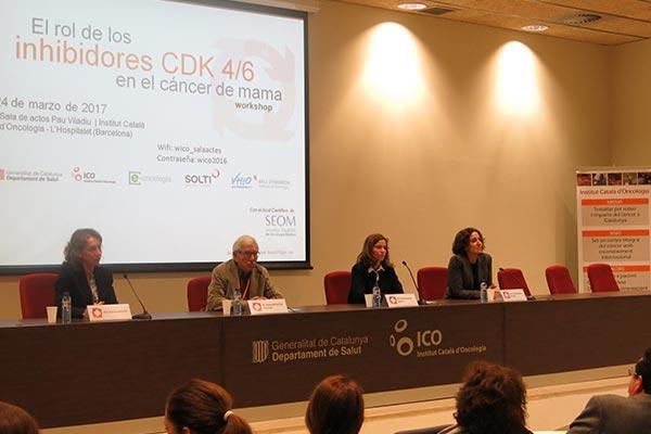 ico solti y vhio ahondan en el uso de los inhibidores cdk 46 para tratar y diagnosticar el caacutencer de mama