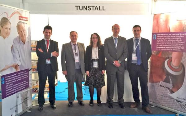 tunstall presenta sus avances en telemonitorizacin y teleasistencia en el congreso nacional de hospitales