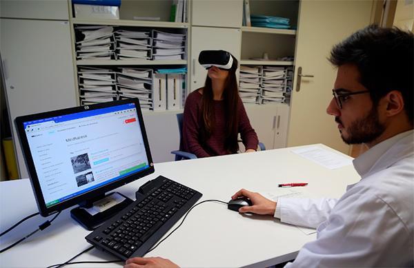 el vall dacutehebron pionero en el uso de la realidad virtual como tratamiento del tdah