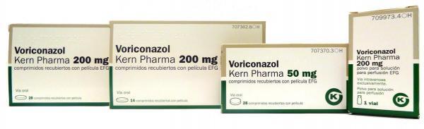voriconazol efg de kern pharma estaraacute disponible en uso hospitalario